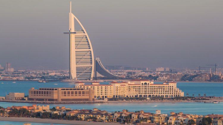 Отель Парус (Бурдж-эль-Араб) в ОАЭ