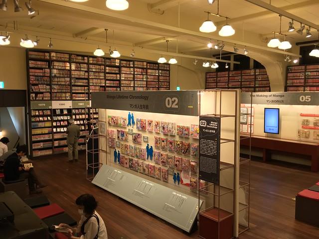 Киотский международный музей манги в Японии