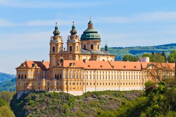 Монастырь в Мельке в Австрии