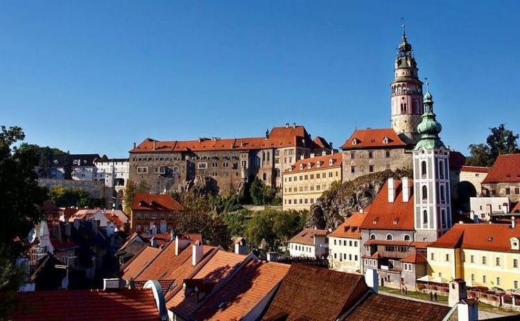 Крумловский замок в Чехии