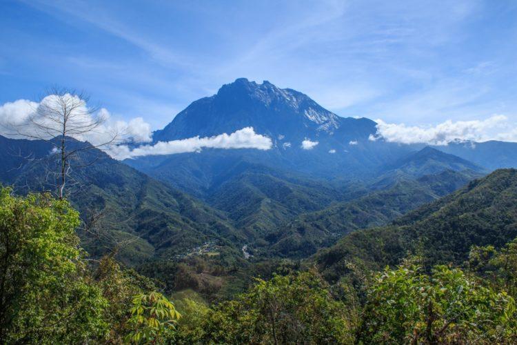 Гора Кинабалу в Малайзии