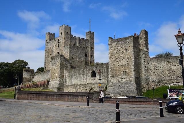 Рочестерский замок в Англии