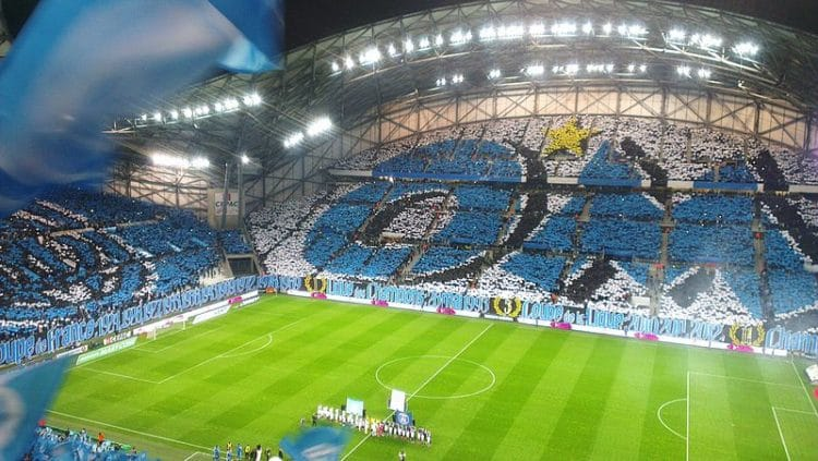 Стадион «Велодром» во Франции