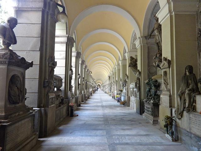 Кладбище Стальено - Что посмотреть в Генуе