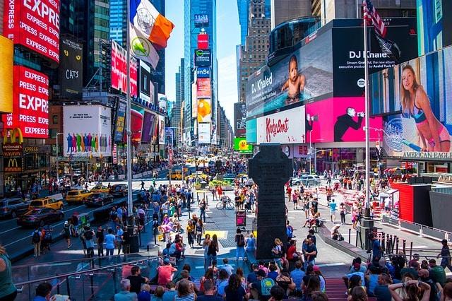 Таймс-Сквер в США