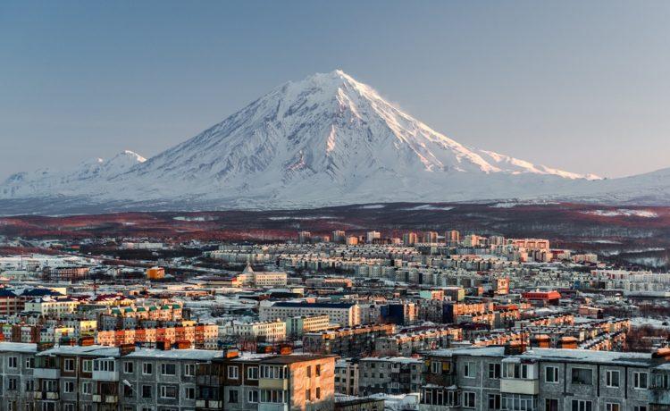 Вулканы Камчатки в России