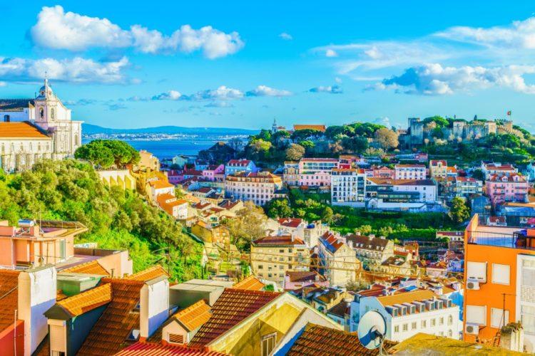 Район Алфама в Португалии