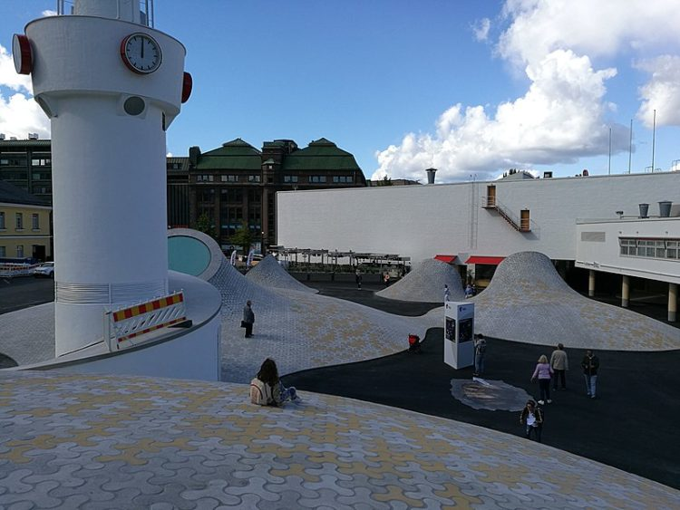 Художественный музей Amos Rex в Финляндии