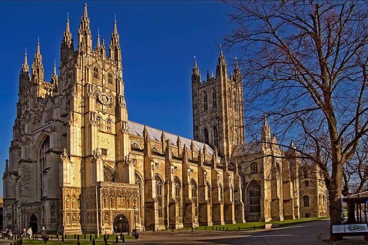 Кентерберийский собор в Англии