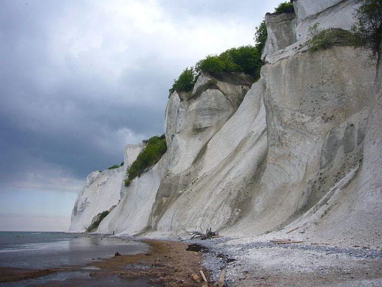 Белые скалы острова Мён в Дании