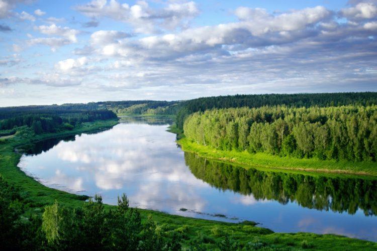 Природный парк «Даугавас локи» в Латвии