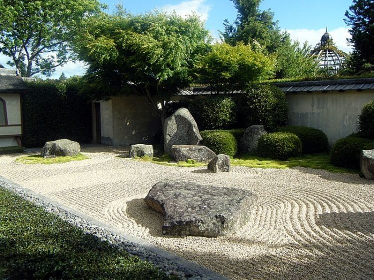 Японский сад медитации в Новой Зеландии