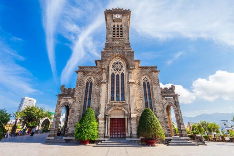 Кафедральный Собор Нячанга во Вьетнаме