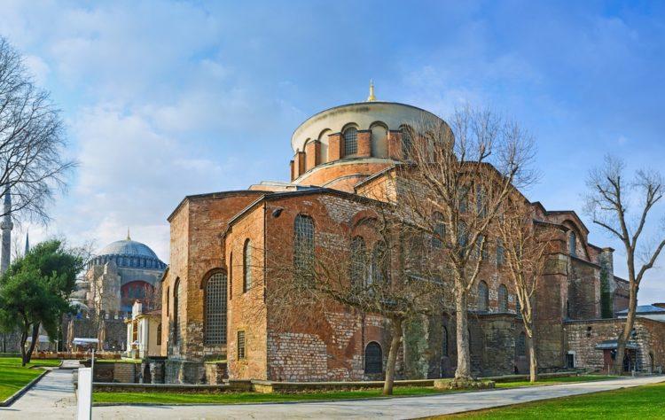 Церковь Святой Ирины в Турции