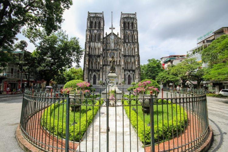 Ханойский кафедральный собор во Вьетнаме