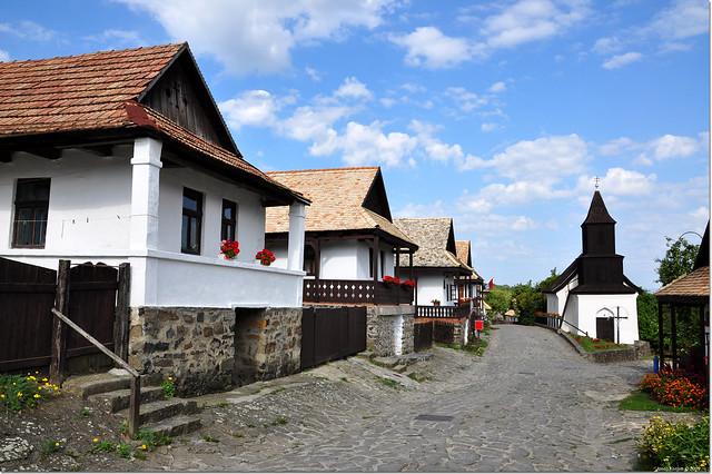 Село Холлокё в Венгрии