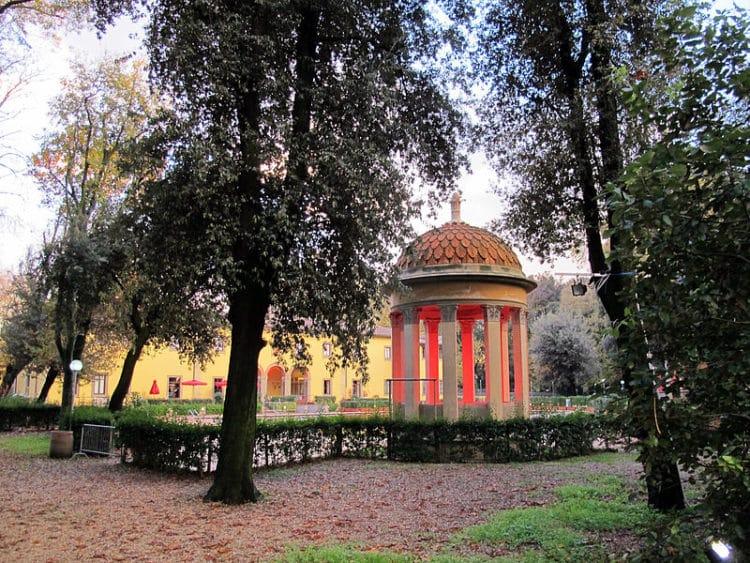 Парк Кашине в Италии