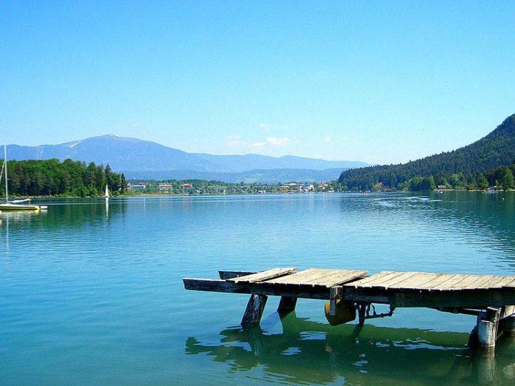 Озеро Факер-Зе в Австрии