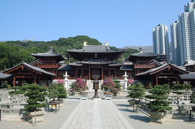 Женский монастырь Чилинь в Китае