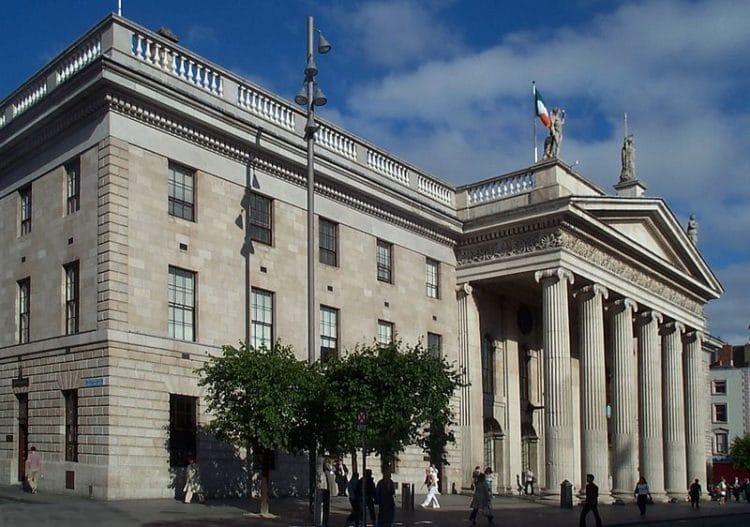 Главпочтамт Дублина в Ирландии