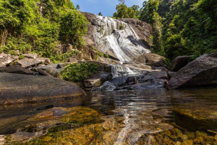 Водопад Семь Колодцев в Малайзии