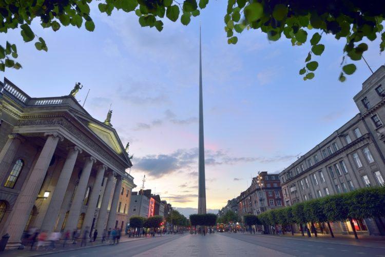 Дублинская игла в Ирландии