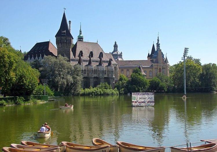 Парк Варошлигет в Венгрии
