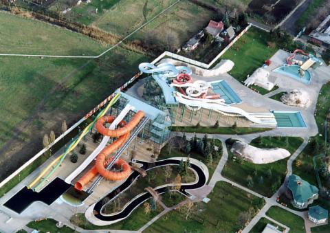 Аквапарк Хайдусобосло в Венгрии