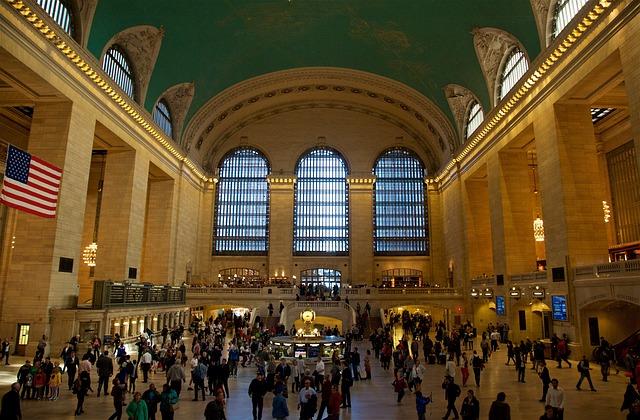 Центральный вокзал Нью-Йорка в США