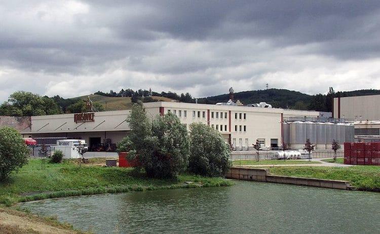 Пивной завод Крушовице в Чехии