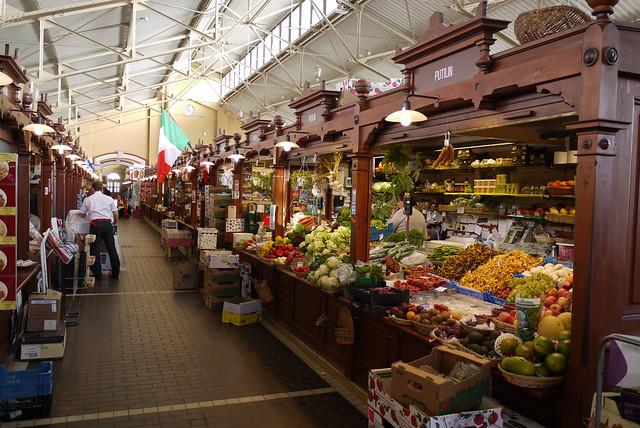 Старый крытый рынок в Финляндии