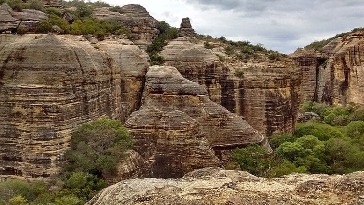 Национальный парк Серра-да-Капивара в Бразилии