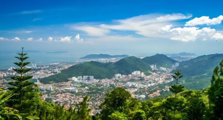 Пенанг Хилл в Малайзии