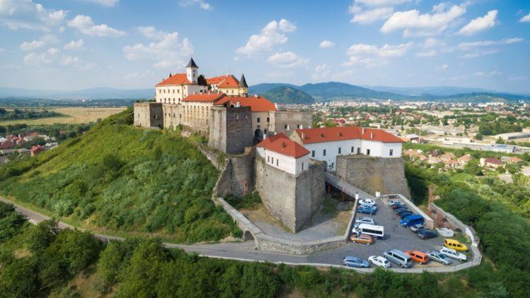 Мукачевский замок на Украине