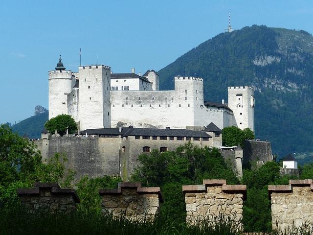 Крепость Хоэнзальцбург - достопримечательности Зальцбурга