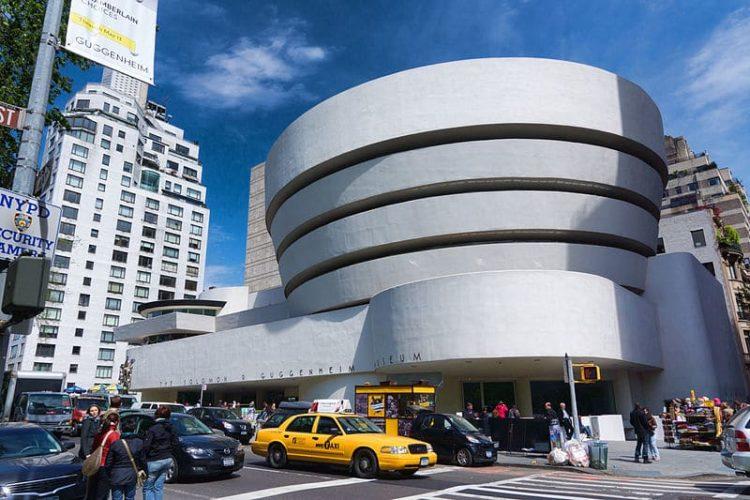 Музей Соломона Гуггенхайма в США