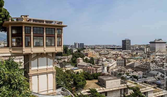 Смотровая площадка Монтальдо 0 достопримечательности Генуи