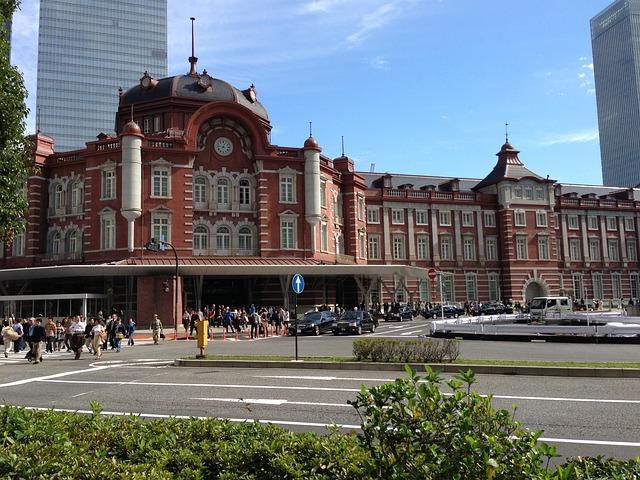 Станция «Токио» в Японии