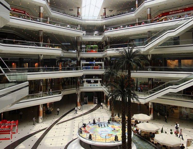 Торговый центр Джевахир в Турции