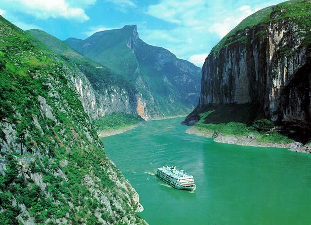 Круизы по реке Янцзы в Китае