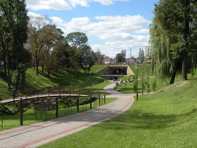 Парк Жилибера - достопримечательности Гродно