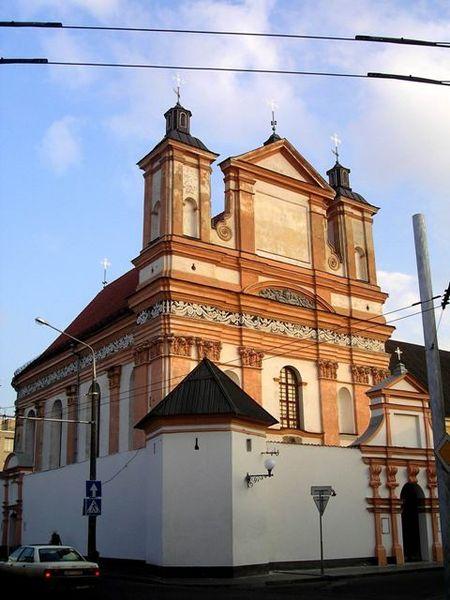 Костёл и монастырь бригиток - достопримечательности Гродно
