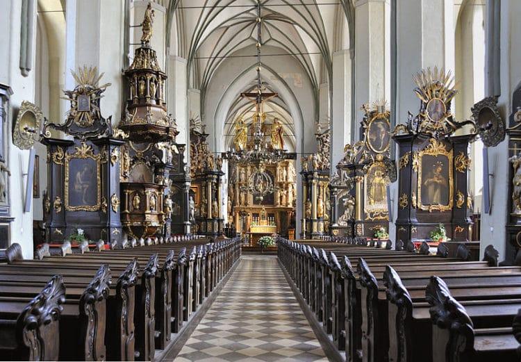 Костёл Святого Николая - достопримечательности Гданьска