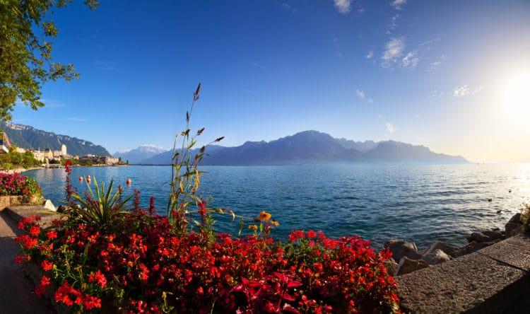 Женевское озеро - достопримечательности Лозанны