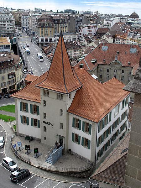 Музей современного искусства «MUDAC» - достопримечательности Лозанны