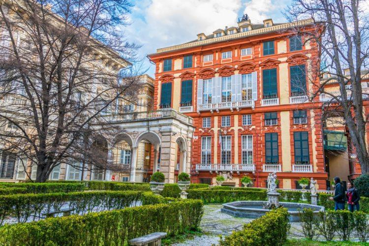Палаццо Россо - достопримечательности Генуи