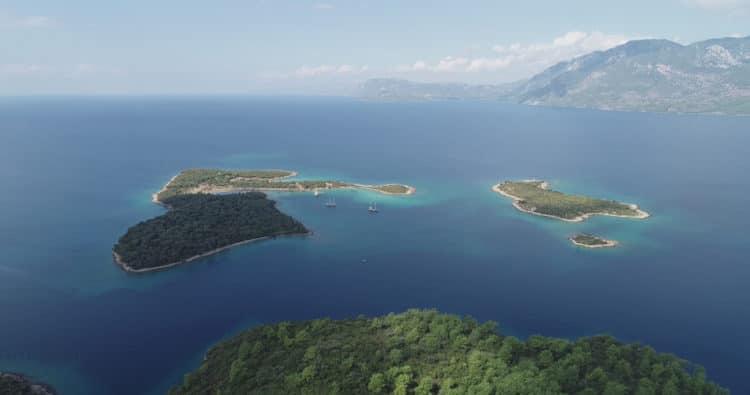 Остров Седир - достопримечательности Мармариса
