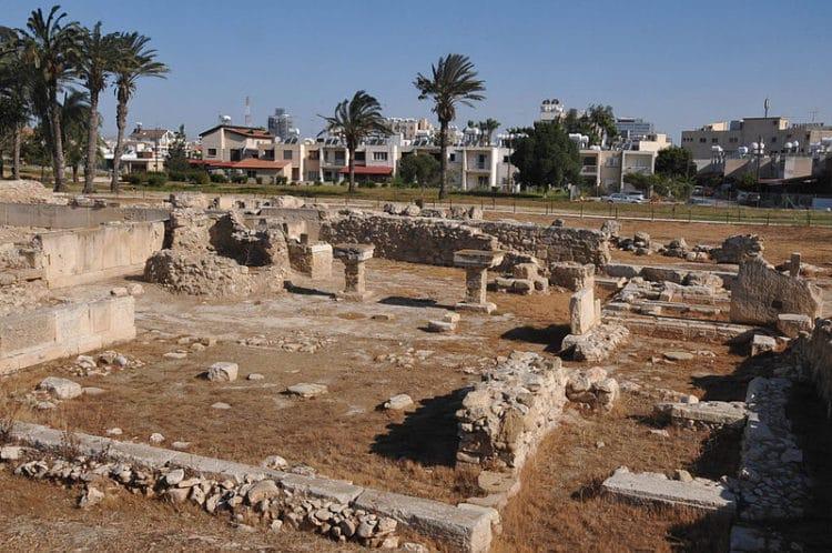 Древний город Китион - достопримечательности Ларнаки