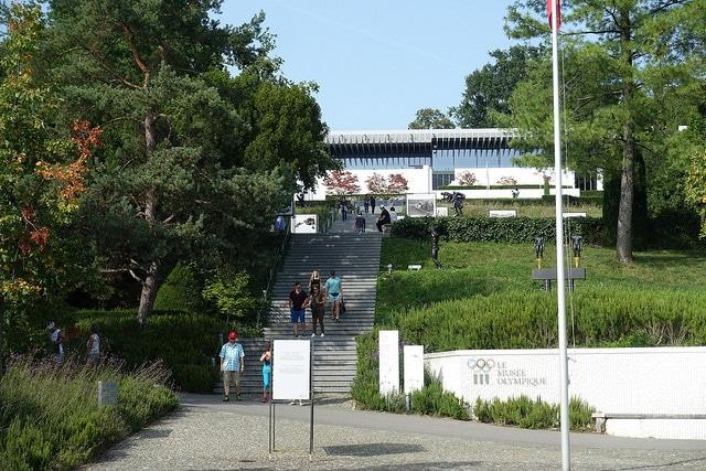 Олимпийский музей - достопримечательности Лозанны