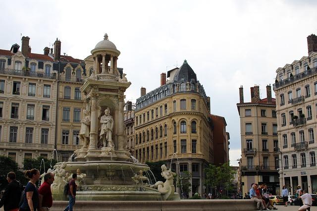 Старый Лион во Франции